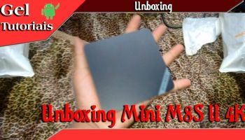 Unboxing Mini M8S II 4K (Tv Android BOX)