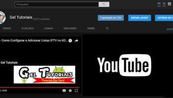 Como ativar o modo noturno do YouTube
