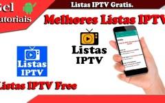 Listas IPTV Free, Aplicativo de Listas Gratis, Tudo em Um Lugar só.