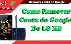 Como Resetar e Remover a conta Google do LG K8 (K350)