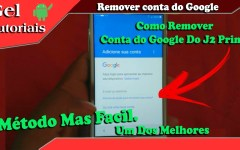 Como Remover conta Google do Samsung Galaxy J2 Prime, Prime TV, SM-G532, G532MT