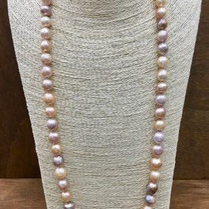 Collana Gold Pearl lunga, IStone