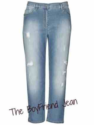 Persona Distressed Jeans, Denim Blue £196