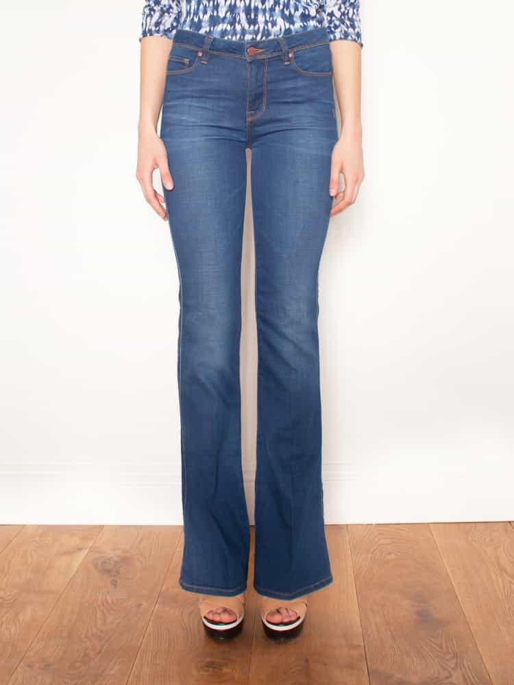 Genetic-Denim The-Jane-High-Rise-Slim-Bell-Jeans