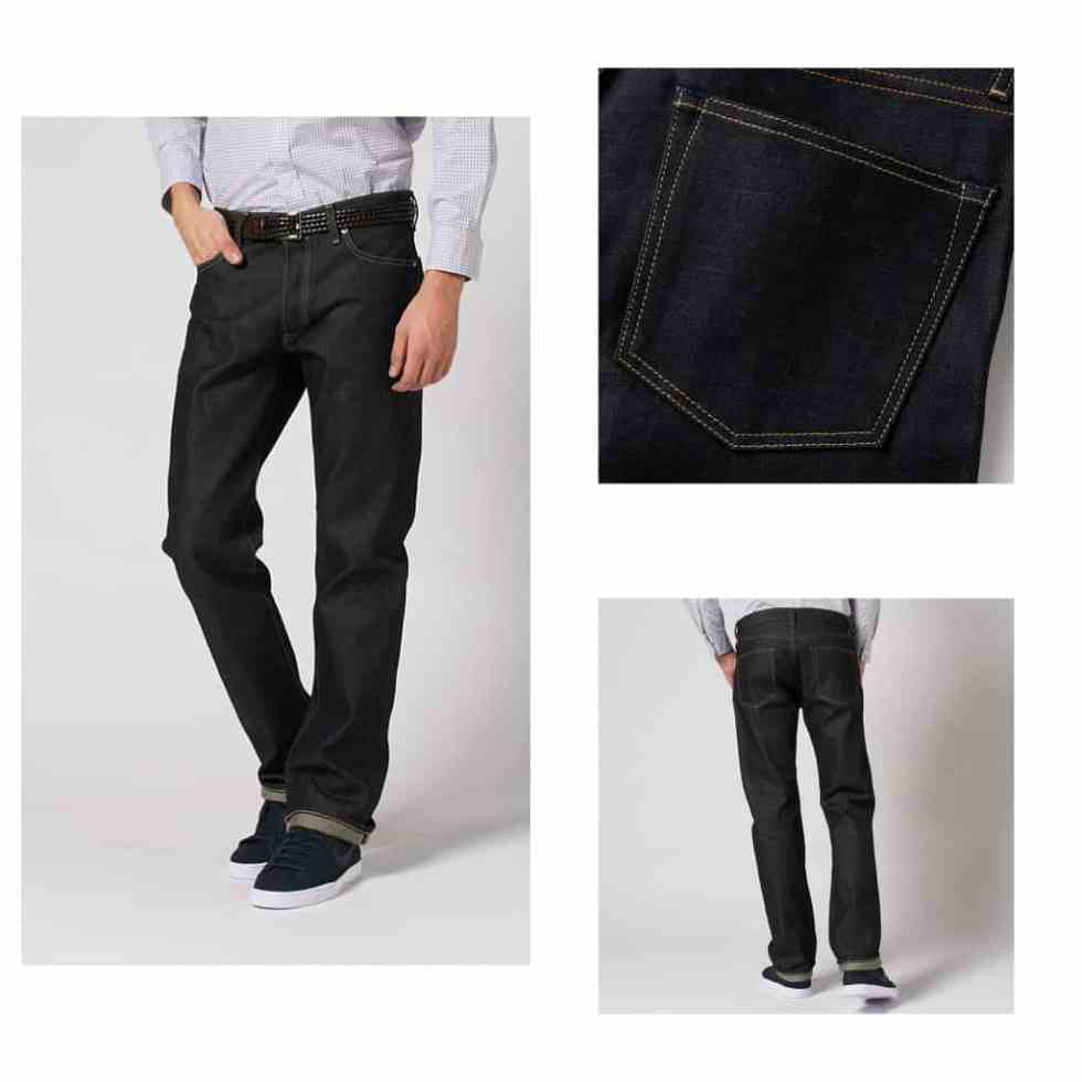 SHOP UNIQLO JAPANESE DENIM JEAN
