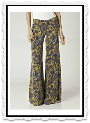 Goldsign Vivien Flare jean - Regal  £390.00 at Donna Ida