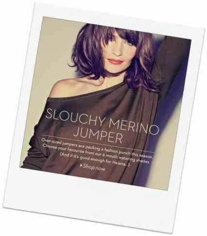 SHOP HELENA'S SLOUCHY MERINO WOOL JUMPER