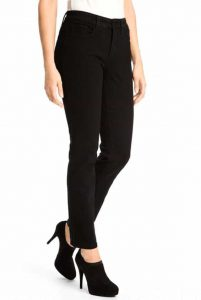 (NYDJ) Not Your Daughters Jeans Sheri Classic Skinny Mid Rise Skinny-Leg in Black  Regular Price: £149.95  Sale Price: £99.00