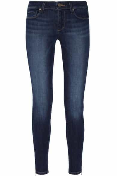 Paige skinny jeans, dark blue, sale