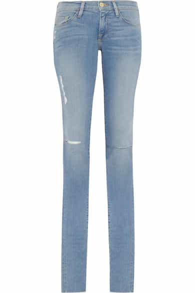 Frame denim, tall jeans, Karlie Kloss