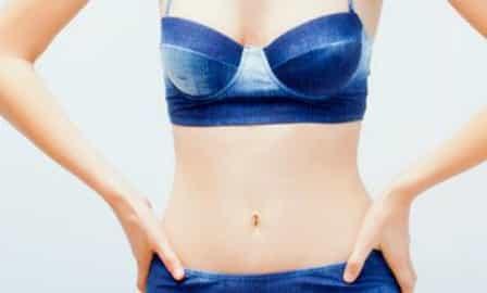 denim bikini