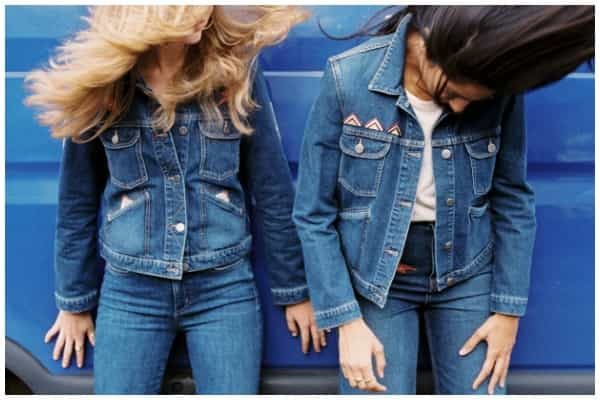 alt=denim customisation mih jeans