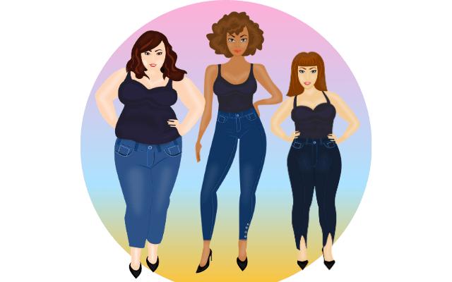 curvy jean styles