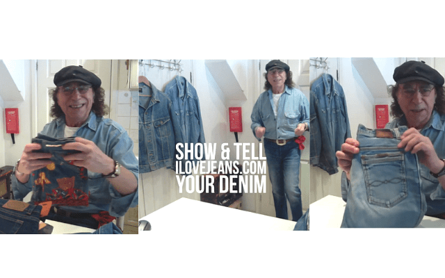 Peter Golding Show & Tell Your Denim