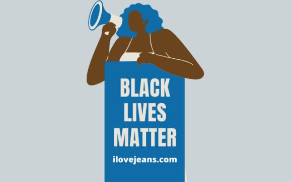 black lives matter at ilovejeans.com