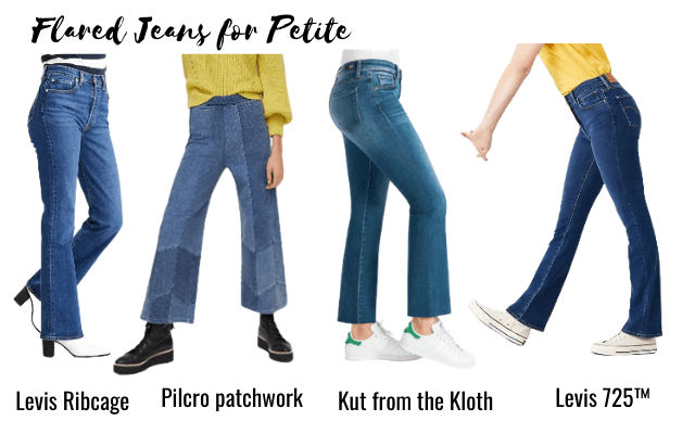 flared jeans for petite