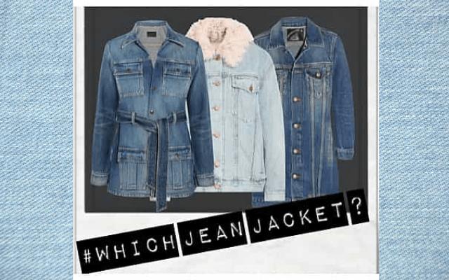 perfect jean jacket