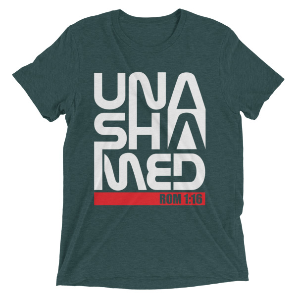 Unashamed Ladies t-shirt
