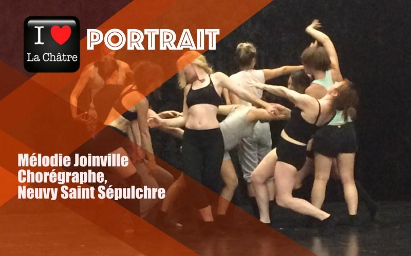 """Territoire d'inspiration: """"Danser, c'est être soi-même"""", portrait de Mélodie Joinville"""