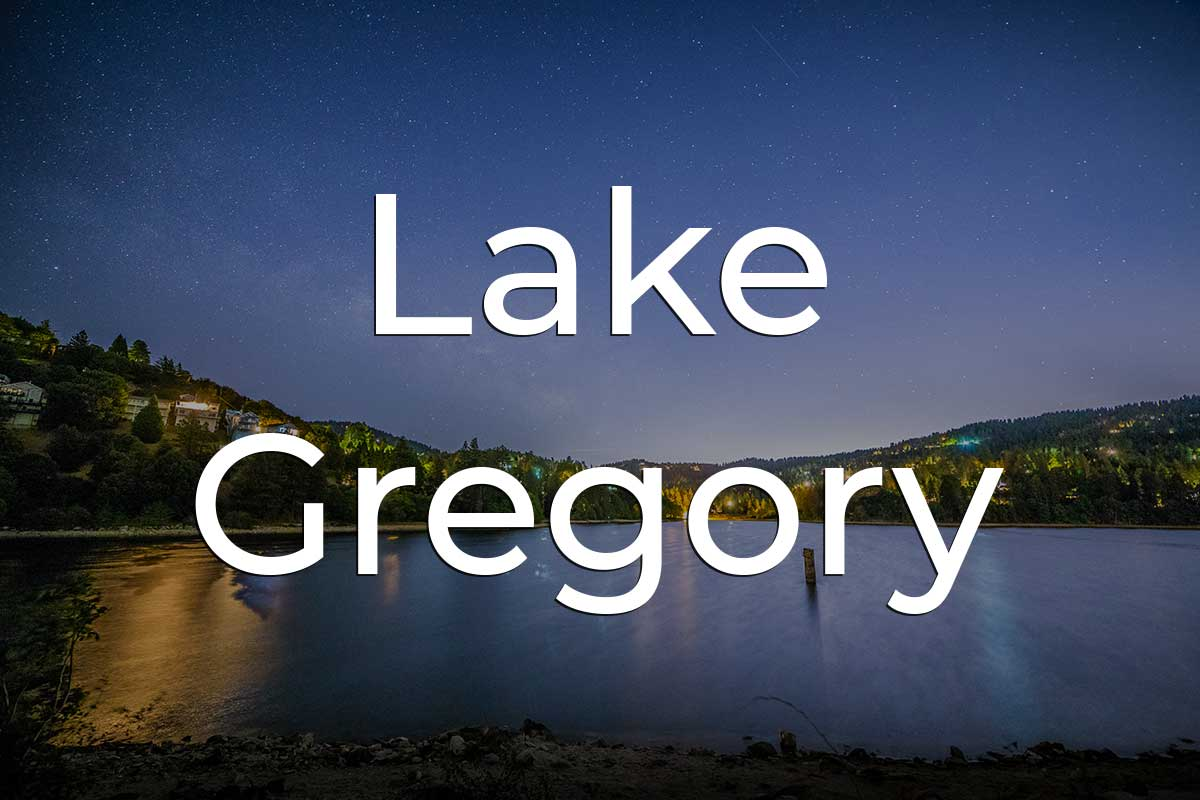 Lake Gregory Things to Do