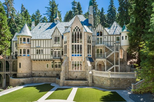 Lake Arrowhead Lodging at Castle in the Forest