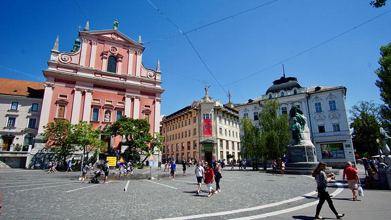 Ljubljana: Prešernov trg