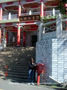 Alishan Post Office. Where I posted a card home :)