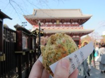 Manju, another yummy snack of deep-fried savory bun. One of the best I had on this trip.