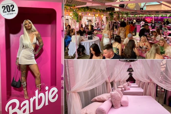 Went to 202 with girlfriends and we ordered drinks and food… Inside 202 Kitchen Manchester S Hottest New All Pink Venue With Barbie Booth Sending Instagram Wild