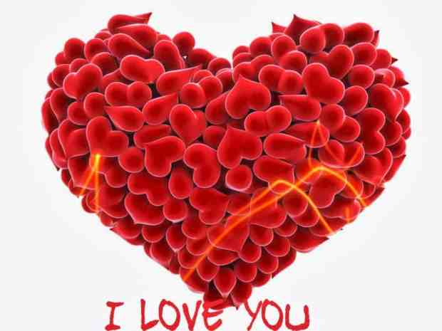 I Love You From The Heart Images