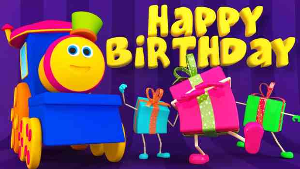 Happy birthday to her from bob train