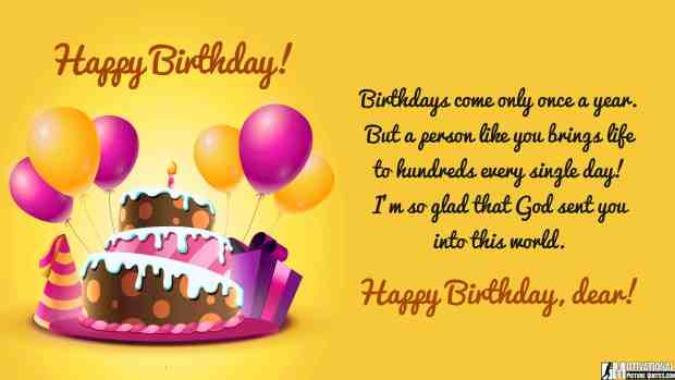 Best happy birthday quotes for him photos