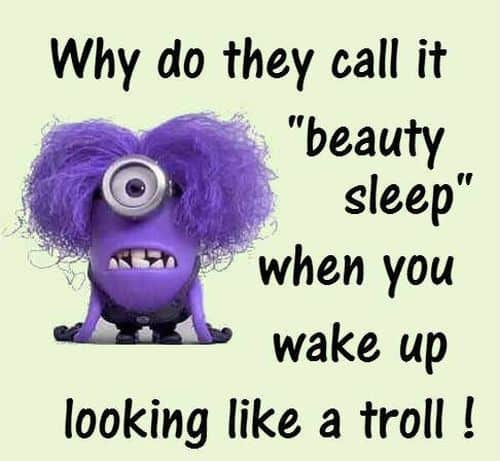 Looking Like Troll Funny Good Morning Quotes