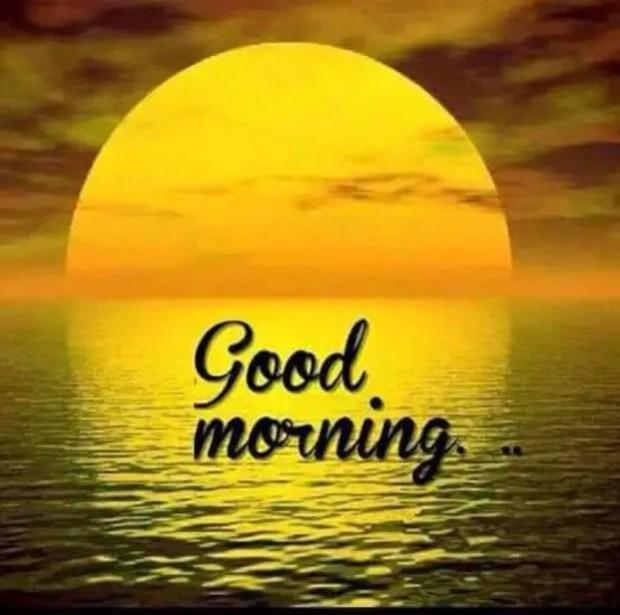 Rising day romantic good morning photo