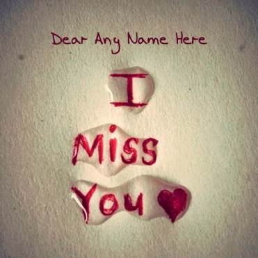 I miss you photos for him and her