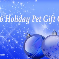 Holiday Pet Gift Guide – 2016