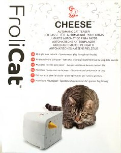 FroliCat® Cheese™ Automatic Cat Teaser Toy by PetSafe - Review #sponsored