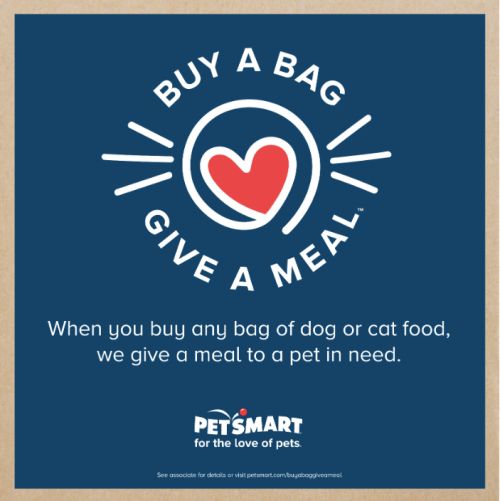 Buy a Bag, Give a Meal with PetSmart® #ad