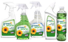 clorox-green-works-supplies used by cleaning service