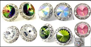 Swarovski Crystal Multicolored Earrings Giveaway