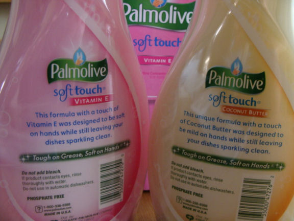 Is Palmolive Ultra Soft Touch soft on hands