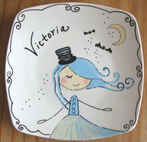 personalized plate for kids