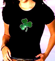 Win a Lucky Rhinestone T-Shirt, St Patty's Day Gift Basket and $60 Amazon Gift Card, Ends March 10