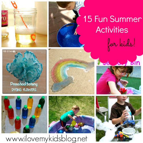 top kids fun summer activities