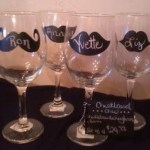 Win FREE Chalkboard Wine Glasses Review / Giveaway, Mother's Day Gift Guide, Ends April 30