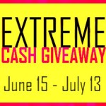 June $500 Cash Giveaway, Ends July 13