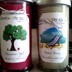 Hidden Treasure Candle giveaway, ends July 13
