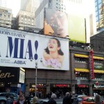 "My family and I went to Manhattan to see the Broadway play ""Mamma Mia!"""