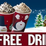 $5 Starbucks Gift card giveaway, 50 Winners! Ends 1/18
