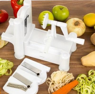Vegetable Slicer review from Epica Manual Multi-Blade Spiral Slicer